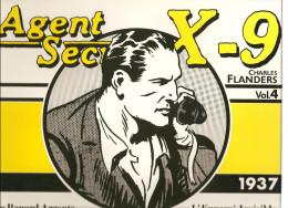 Agents Secret X-9 Par Charles Flanders 1937 Volume N°4 De 1984 Editions Futuropolis - Livres, BD, Revues