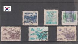 Corée Du Sud 1952-53 Oblitéré Michel VC 7.6€ Cod. F Kor 002 - Korea (Süd-)