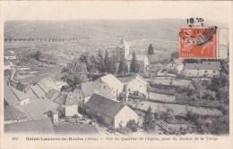 SAINT LAURENT LA  ROCHE...VUE DU QUARTIER DE L EGLISE - Sonstige Gemeinden
