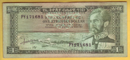 ETHIOPIE - Billet De 1 Dollar. 1966. Pick: 25a. SUP - Ethiopie