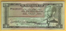 ETHIOPIE - Billet De 1 Dollar. 1966. Pick: 25a. SUP+ - Ethiopie