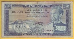 ETHIOPIE - Billet De 50 Dollars. 1966. Pick: 28a. TB+ - Ethiopie