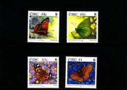 IRELAND/EIRE - 2005  WWF  BUTTERFLIES  SET  MINT NH - 1949-... Repubblica D'Irlanda