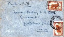 ARGENTINIEN 1947? - 2 Sondermarken Auf LP-Brief - Argentinien