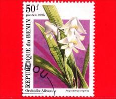 BENIN - 1995 - Fiori - Orchidee Africane - Polystachya Virginea - 50 - Bénin – Dahomey (1960-...)