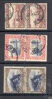 SOUTH WEST AFRICA, 1931 1d, 1½d, 2d In Se-tenant Pair VFU - Zuidwest-Afrika (1923-1990)