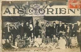 Réf : RO-14-418  :  FONTENAY SOUS BOIS Palais D'Orient Les Fêtes ( Carte Photo)( Déchirure Sur La Gauche Sous Timbre) - Fontenay Sous Bois