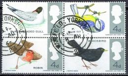 N008 FAUNA VOGELS BIRDS OISEAUX VÖGEL AVES MEEUW MEES ENGLAND GREAT-BRITTAIN 1966 Gebr / Used - Oiseaux