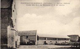 FONTENAY LE MARMION  - Ancien  Chateau Féodal Des Ducs De Marmion - France
