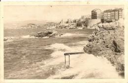 13. CP. Bouches-du-Rhône. Marseille, Un Coin De La Corniche - France
