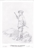 Ex Libris PELLERIN Patrice Numéroté Signé 2008 (L'épervier...) - Illustrateurs P - R