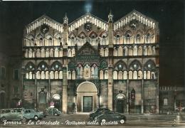 FERRARA  La Cattedrale  Notturno  Animata Auto - Ferrara