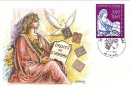 1997 France -CPJ Carte 1er Jour- Mouchon 1902 - Journée Du Timbre - OPJ 15/03 Thiers (63) - N°3051 - 1/3 Côte - Tag Der Briefmarke