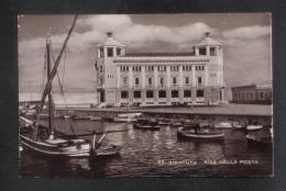 ITALY - SICILIA SIRACUSA RIVA DELLA POSTA  1947  POSTCARD - Siracusa