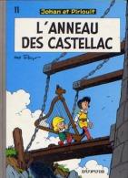 Johan Et Pirlouit - 11 - L'anneau Des Castellac - De Peyo - Johan Et Pirlouit