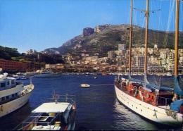 Monaco - Le Port - Le Palais Princier Et La Tete De Chien - 45 - Formato Grande Non Viaggiata - Harbor