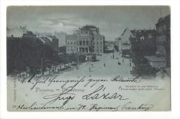 10937 - Pozsony Pressburg Promenade Und Städt.Theater - Slovaquie