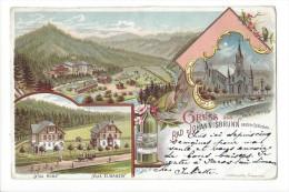 10936 - Gruss Aus Rad Johannisbrunn Litho - Tchéquie