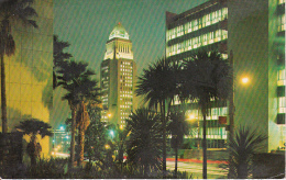 PC Los Angeles - City Hall and Hall of Records - 1972 (10540)