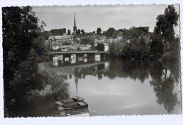 Cpsm MONTBELIARD  , Vue Sur L' Allan  , Carte Photo !  ( 1363 )  PRIX FIXE ! - Montbéliard