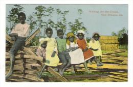 USA  /  LOUISIANA  /  WAITING  FOR  THE  CIRCUS ,  NEW  ORLEANS  ( Enfants, Negroes ) - Etats-Unis