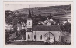 LUSIGNY SUR OUCHE - L' EGLISE ET LE MONUMENT AUX MORTS - FORMAT CPA - Autres Communes