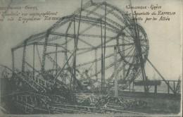 Salonique   Le Squelette Du Zeppelin Abattu Par Les Allies - Grèce
