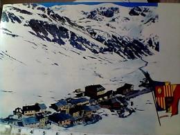 ANDORRA STATION DU PAS DE LA CASE  HIVER CON  NEVE   V1985 EO11039 - Andorra