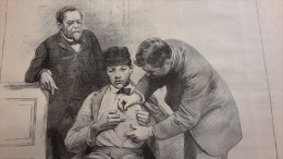 1885 VACCIN DE LA RAGE LABORATOIRE PASTEUR - BULGARIE SOPHIA - COMBAT DES TORTUES Paru dans L�ECHO DU NORD