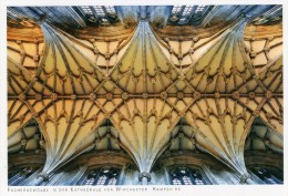 Postcard - Fan Vault In Winchester Cathedral, Hampshire. 2014 - Winchester