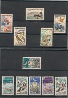 Saint Pierre Et Miquelon  Années 1956-63-73 Lot Faune Côte : 46,50 € Tous** - Collections, Lots & Séries