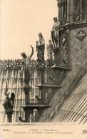 - PARIS - Notre-Dame. Contreforts De La Flèche, Apôtres Et Evangélistes - - Notre Dame De Paris