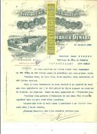 18 - Cher - ST-AMAND - Facture FOURNIER-DEMARS - Fabrique De Liqueur – 1906 - REF 159 - France