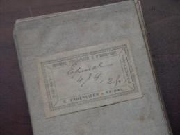 EPINAL ( Rambervillers, Remiremont, Darnieulles Etc.... ( Oudere 2de Hands Kaart Op Katoen / Cotton ) ! - Europe