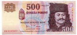 HONGRIE : 500 Forint 2005 (unc) - Hongrie