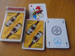 jeu de 32 cartes � jouer - RAIMBEAUCOURT - vins caves TONNEAU DES MOINES