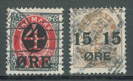 DENMARK - 1904 OVERPRINTS - Gebraucht