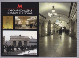 The Moscow Metro - Station Kurskaya-Koltsevaya - U-Bahnen
