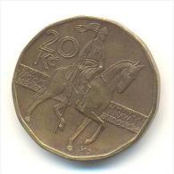 REPUBBLICA CEKA  20 KORUN  ANNO 2002 - Repubblica Ceca