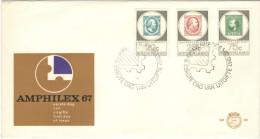 OLANDA - NEDERLAND - Paesi Bassi - 1967 - Amphilex - FDC - FDC