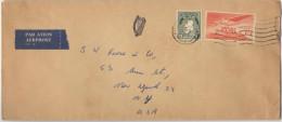IRLANDA - IRLANDE - Ireland - EIRE - 1965 - Air Mail - Viaggiata Per New York, USA - 1949-... Repubblica D'Irlanda