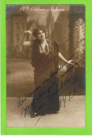 Lina Dilson  1913  'Lakmé'  Théatre Royal D'Anvers Gesigneerd - Theater