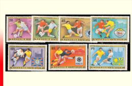 Mongolie 0959/65** Coupe Du Monde De Football Argentine - Coupe Du Monde