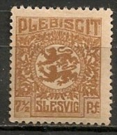 Timbres - Allemagne - Empire - Plébiscite - 1920 - Slesvig - 7 1/2 Pf. -