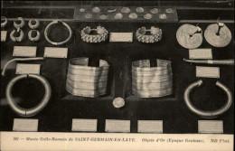 OR - ARGENT - BIJOUX - Musée Gallo-romain De SAINT-GERMAIN-EN-LAYE - Bracelets OR - Otros