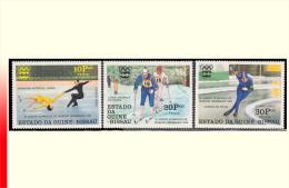 Guinée Bissau PA 0018/20** Jeux Olympiques D'Innsbruck - Winter 1964: Innsbruck