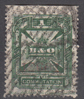 United States    Scott No.  3T7    Used      Year 1886    Perf 14   Note --heavy Cancels For This Issue Are Normal - Telegraph Stamps