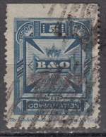 United States    Scott No.  3T8    Used      Year 1886    Perf 14   Note --heavy Cancels For This Issue Are Normal - Telegraph Stamps