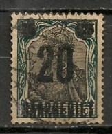 Timbres - Allemagne - Empire - Plébiscite - Sarre - Saargebiet - 75 Pf. -