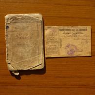 LIVRET MILITAIRE DE 1920 ET ORDRE D'APPEL SOUS LES DRAPEAUX - Documents Historiques